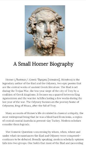 Iliad Homer Ebook