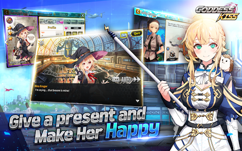 Hack Game GODDESS KISS apk free