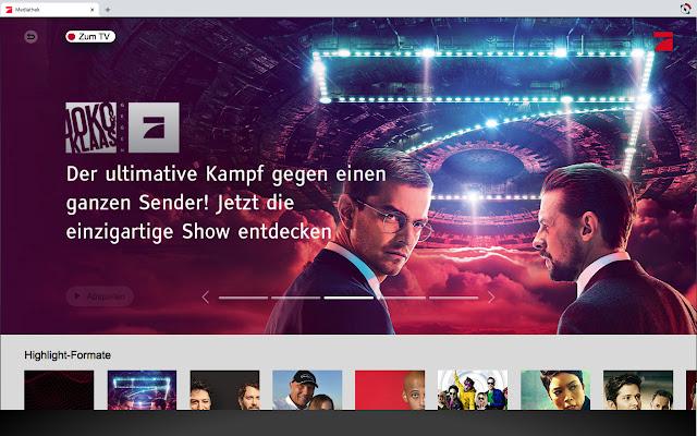 RedOrbit HbbTV Emulator