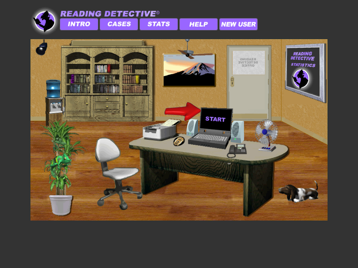 Reading Detective® Beginning- screenshot