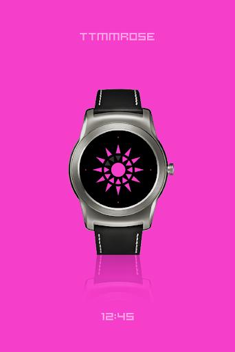 TTMMROSE - watchface to Wear