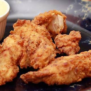 Spicy Fried Turkey Tenderloins.