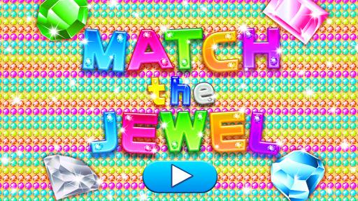 Preschool Kids Match the Jewel