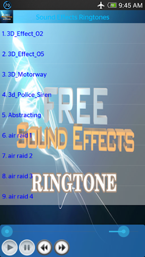 Free Sound Effects Ringtones