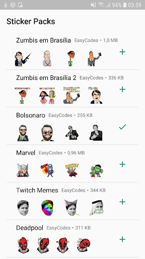Stickers for Whatsapp Stickers - WAStickerApps 1.0.57 screenshots 1