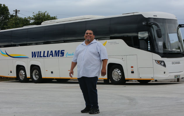 Faheem Williams, of Williams Coach Tours
