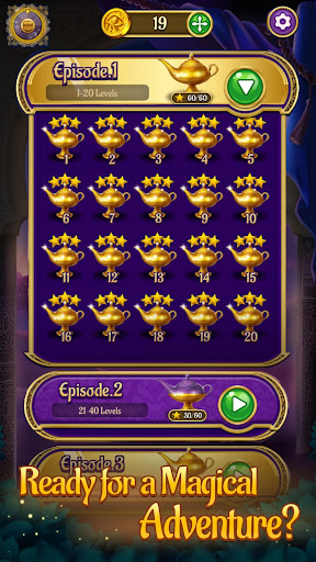 Jewels & Genies: Aladdin Quest - Match 3 Games screenshot 6