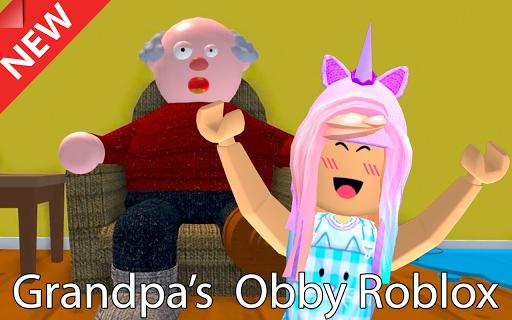 Escape Grandpas House Obby Roblox