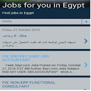 Jobs for you in Egypt