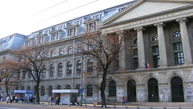 University of Bucharest Headquarters