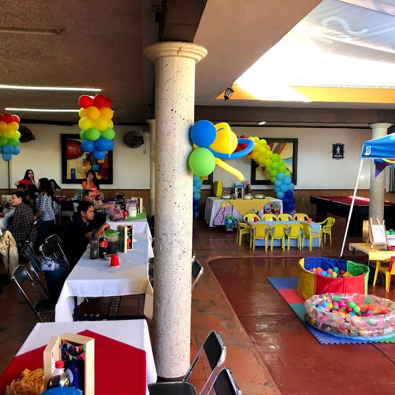 Terraza Salon Infantil Dino Salón Para Eventos En Guadalajara
