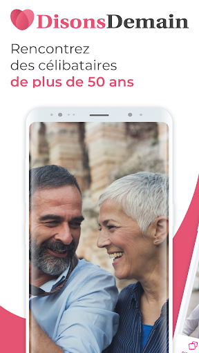DisonsDemain - Site de rencontre pour les 50+ 5.33.0 Screenshots 1