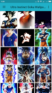 Best Ultra Instinct Goku Wallpaper - náhled