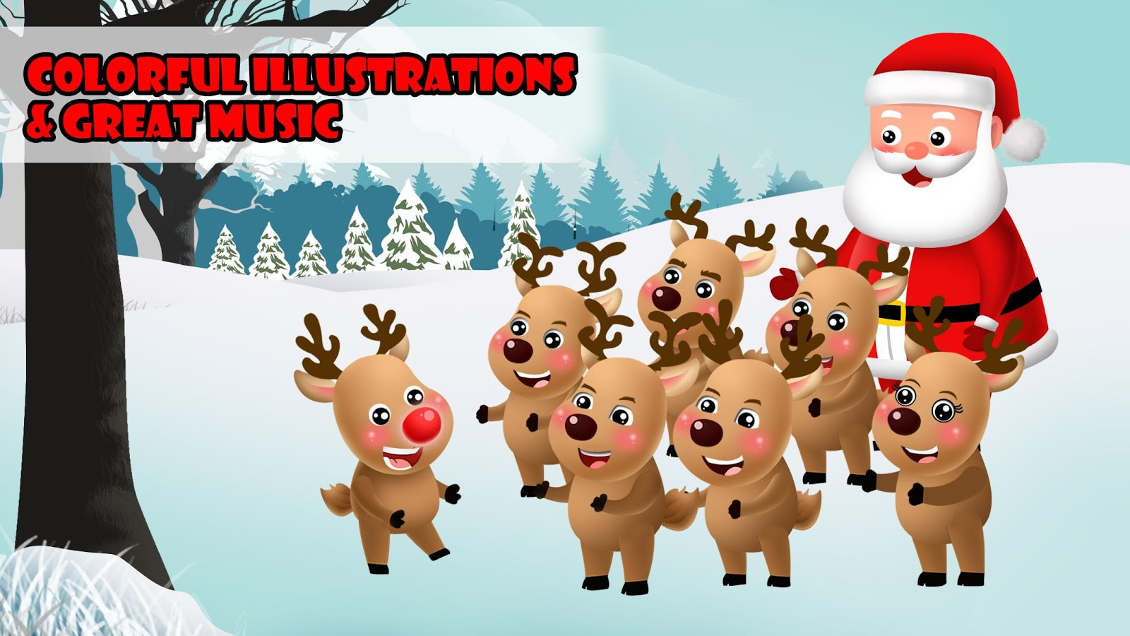 santas special reindeer xmas android apps on google play