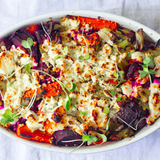 Beet and Carrot Bake