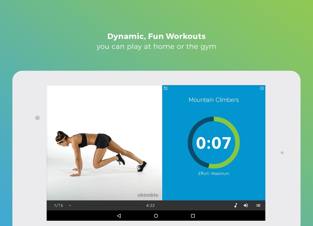 Workout Trainer Fitness Coach Screenshot