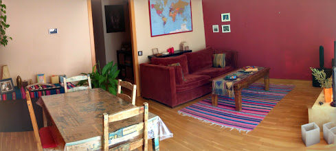 Photo: our apartment at Monistrol de Monserrat