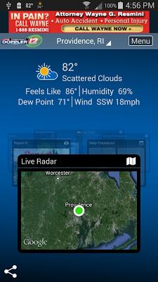 WPRI Weather - screenshot