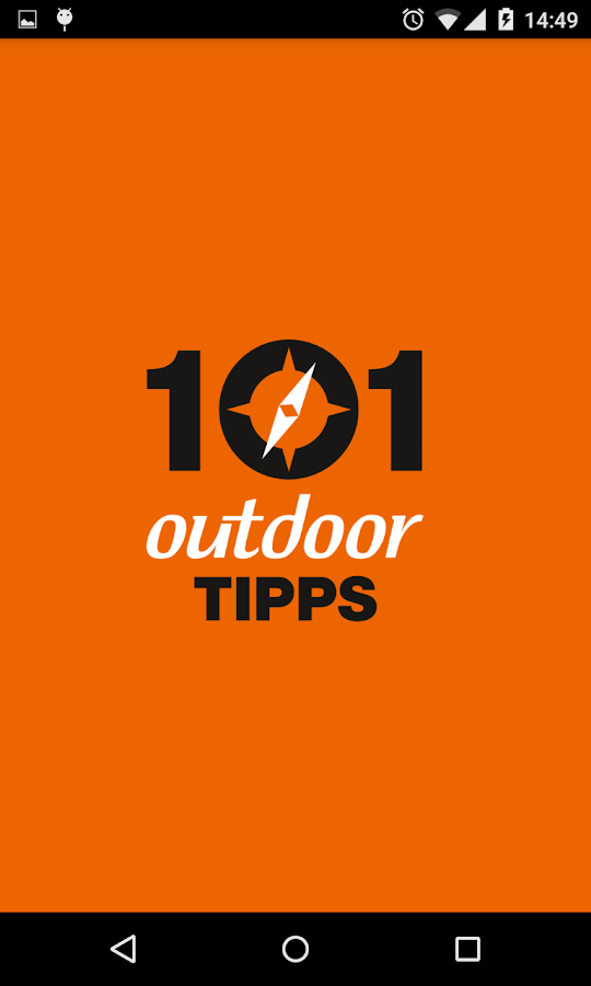 101 outdoor Tipps- screenshot