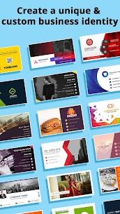 Business Card Maker, Visiting Card Maker (MOD, Pro) v32.0 1