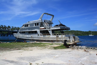 Photo: An old San Diego ferry boat Noel is converting to a yacht