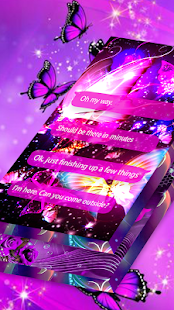 New Messenger 2020 - Butterfly Messenger Themes for PC-Windows 7,8,10 and Mac apk screenshot 12