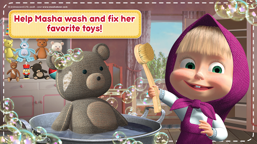 Masha and the Bear: House Cleaning Games for Girls 1.9.12 Cheat screenshots 6