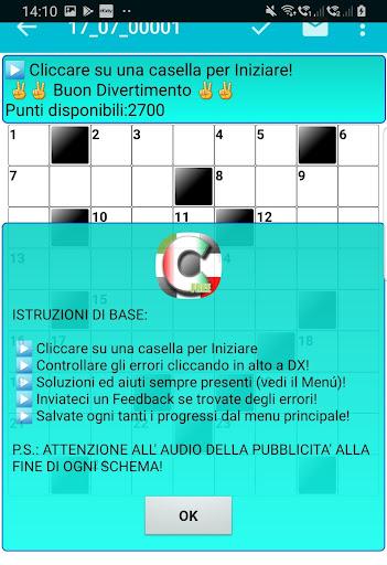 Italian Crossword Puzzles - Advanced Level 7.5 8