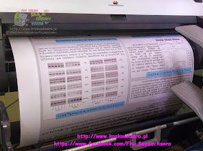 Photo: Plakat wielkoformatowy - poster A0. Usługa realizowana na poczekaniu. Czas druku około 5 min. Użyty papier pół matt 280g/m.