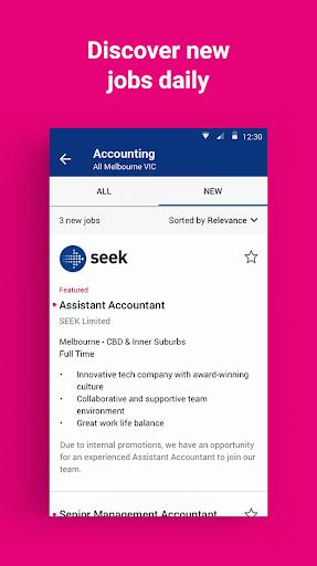 SEEK Job Search android2mod screenshots 4