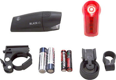 Planet Bike Blaze 1/2 watt Headlight and Superflash Taillight Set alternate image 0