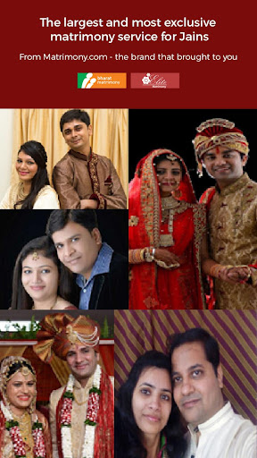 Jain Matrimony - Leading Marriage App For Jains screenshots 1