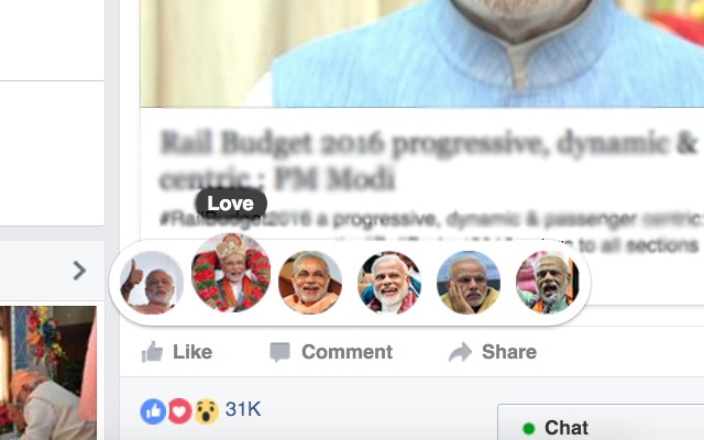 Narendra Modi Reactions