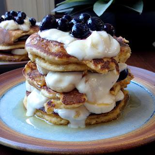 Almond Meal Pancakes.
