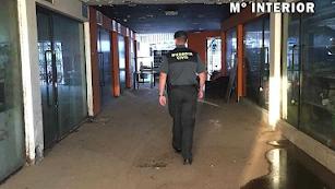 Detención llevada a cabo por la Guardia civil en Roquetas.