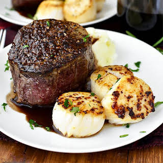 Surf and Turf for Two.
