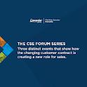 2016 CSE Forum Series icon