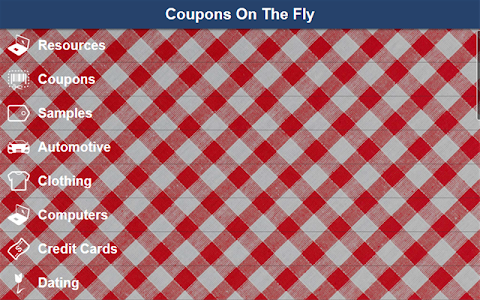 Coupons On The Fly screenshot 2