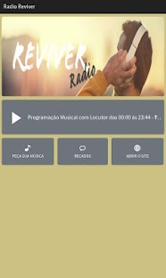 Rádio Reviver- screenshot thumbnail