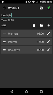 A HIIT Interval Timer- screenshot thumbnail