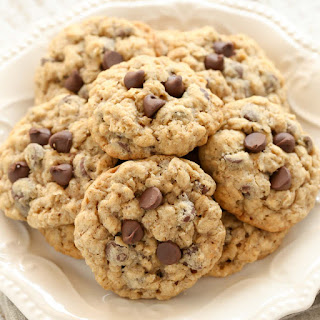 Soft and Chewy Oatmeal Chocolate Chip Cookies Recipe