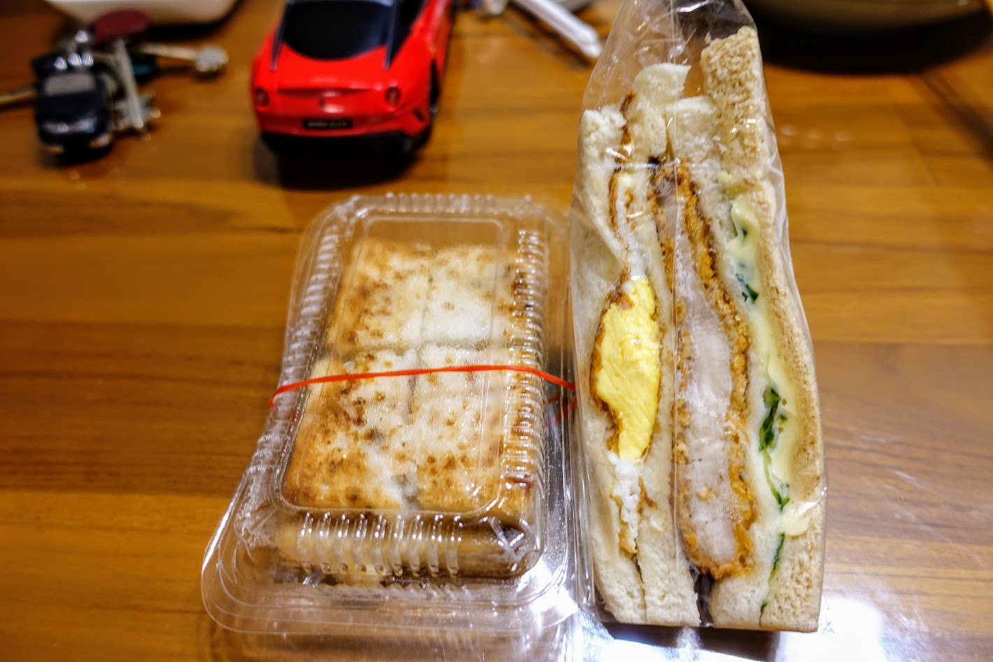 三明治還不錯..