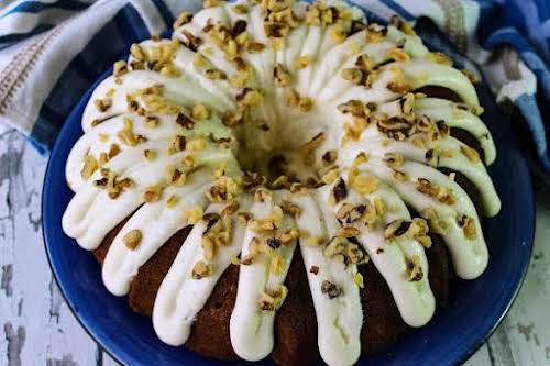 "Peggy's Homemade Carrot Cake w/Cream Cheese Icing""Who knew homemade carrot cake with..."