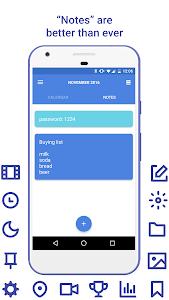 Daily: events, calendar, notes screenshot 3