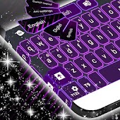Themes Purple Neon For GO
