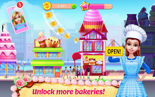 My Bakery Empire - Bake, Decorate & Serve Cakes 1.0.7 screenshots 10