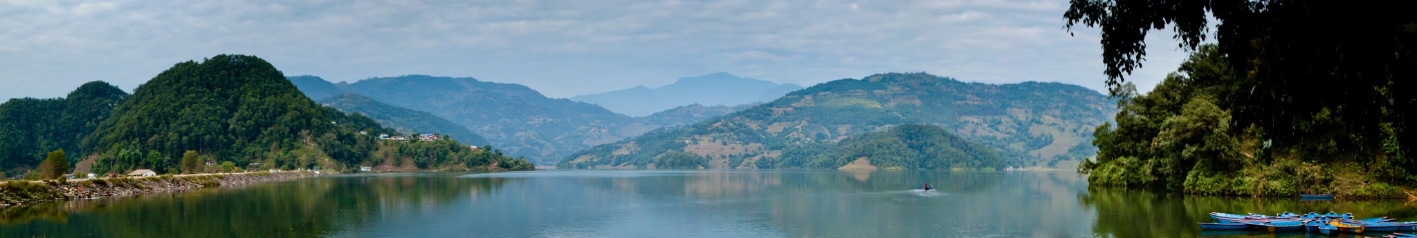 Photo: Begnas Lake Pano  Another #Panorama today for #WideWednesdayPanorama curated by +Jason Dell and +Charles Lupica .