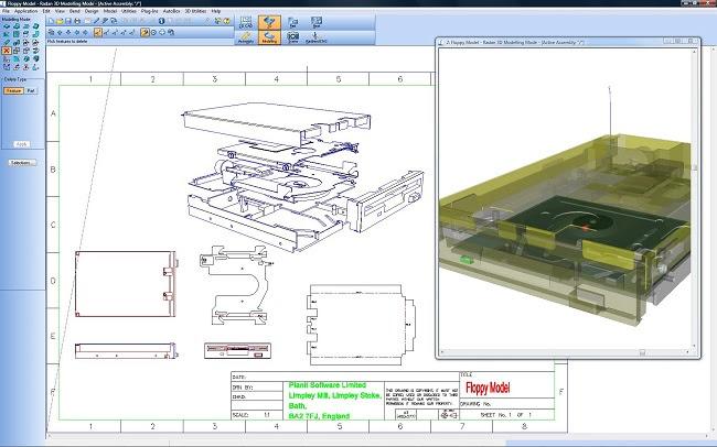 RADAN 3D Работа с 3D-обьектами в производстве из листового металла