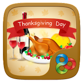 Thanks Giving Day Go Launcher Theme