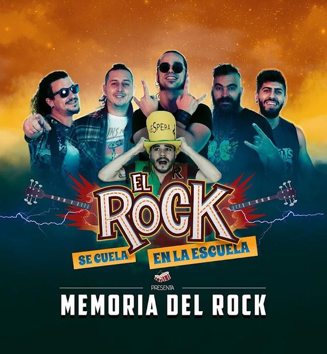 El Rock Se Cuela En La Escuela actuará el 26 de julio en la Plaza de la Constitución.